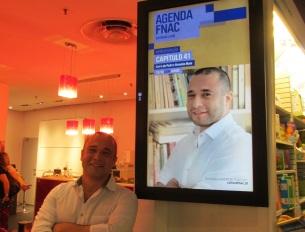"FNAC Alfragide, Lisboa. Lançamento de ""Capítulo 41""."