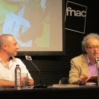 "Com Miguel Real, FNAC Colombo, Lisboa. Lançamento de ""Capítulo 41""."