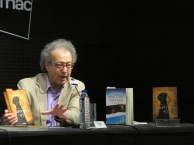 "Com Miguel Real na FNAC Colombo, Lisboa. Lançamento de ""Capítulo 41""."