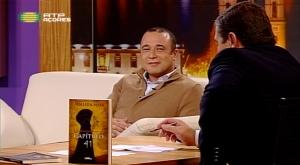 """""""Noite dos Sentidos"""", RTP, com Vasco Pernes. Apresentação de """"Capítulo 41""""."""
