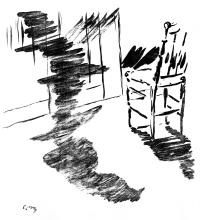 """""""Le Corbeau"""", por Édouard Manet."""