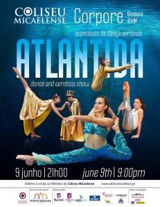 "Cartaz do espetáculo ""Atlântida"""