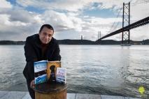 Pedro Almeida Maia em Lisboa. Fotografia da autoria de Tiago Maia.