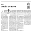 Crónica de Pedro Almeida Maia no Açoriano Oriental.