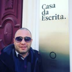 Pedro Almeida Maia na Casa da Escrita, Coimbra.