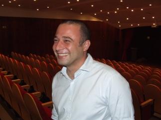Pedro Almeida Maia na Biblioteca Pública e Arquivo Regional de Ponta Delgada, Açores.