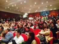 """Biblioteca Pública e Arquivo Regional de Ponta Delgada, Açores. Lançamento de """"Os Vencedores do Medo""""."""