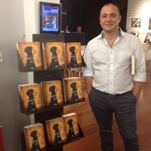 """Pedro Almeida Maia na FNAC Colombo, Lisboa. Lançamento """"Capítulo 41""""."""