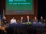 Conferência sobre Geocaching, Escola Secundária de Lagoa.