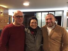 Manoel Costa, Helena Amaral e Pedro Almeida Maia