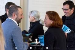 """Pedro Almeida Maia e Ana Gil na apresentação de """"A Viagem de Juno"""" em Ponta Delgada"""