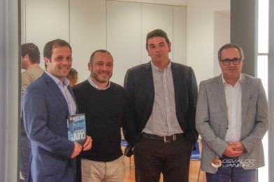 Alexandre Gaudêncio, Pedro Almeida Maia, Luís Miguel Almeida e Luís Soares Almeida